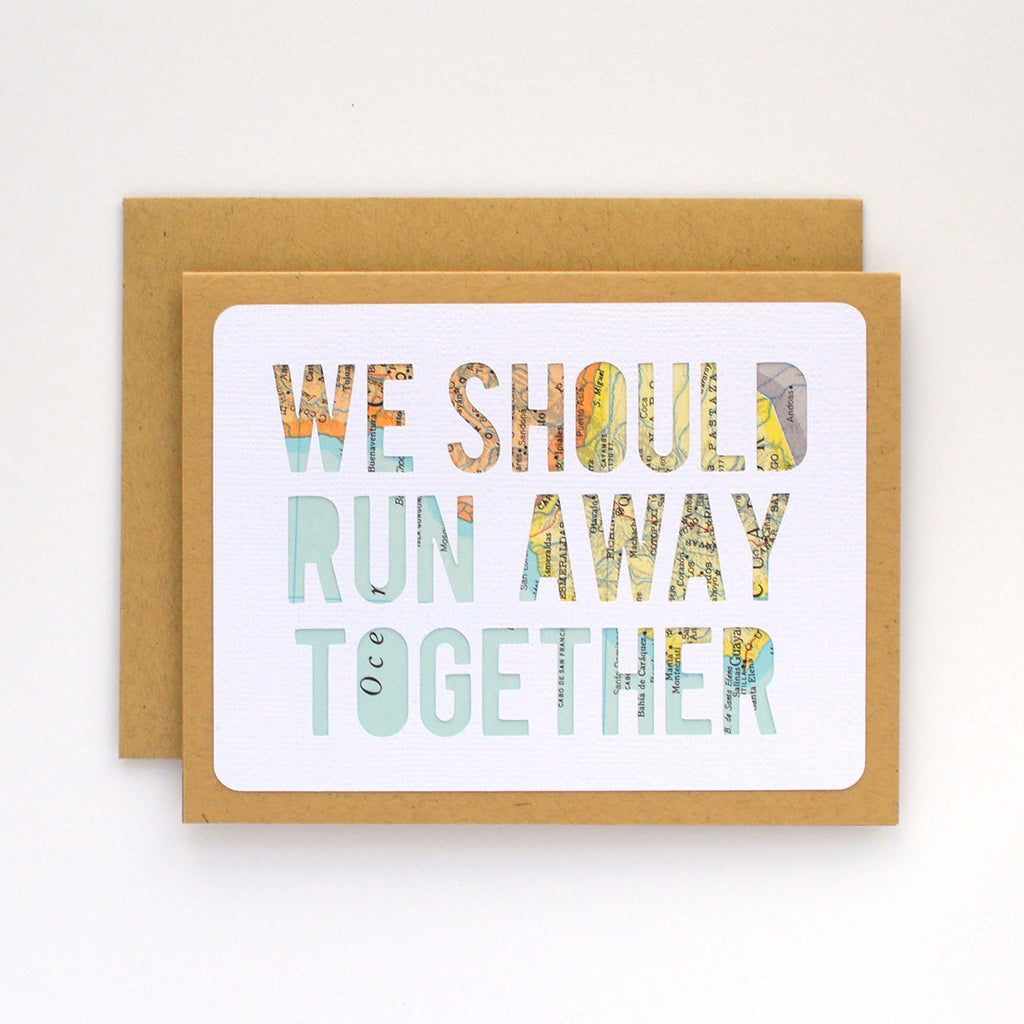 Run Away Together Map Card