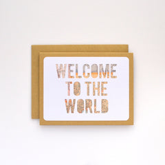 Welcome to the World Map Card
