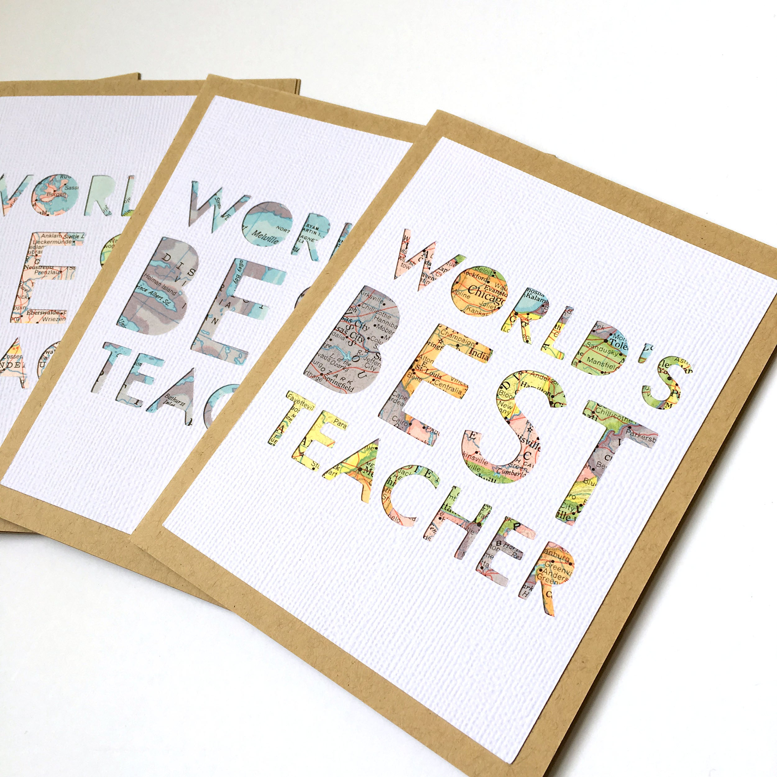 World's Best Teacher Card