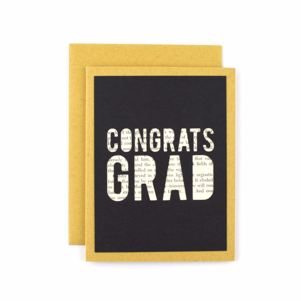 Congrats Grad Book Card