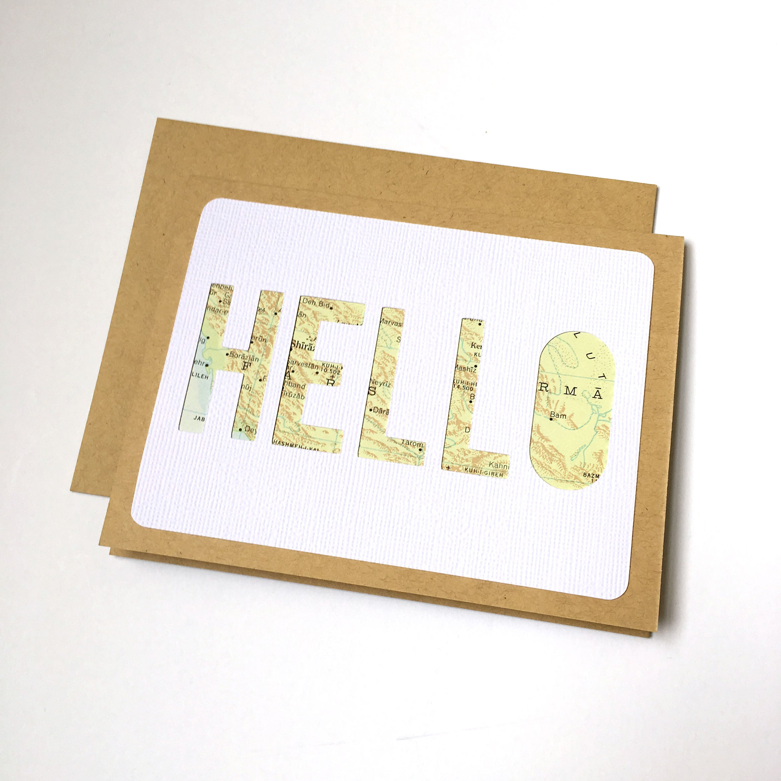 Hello Card - Block Type