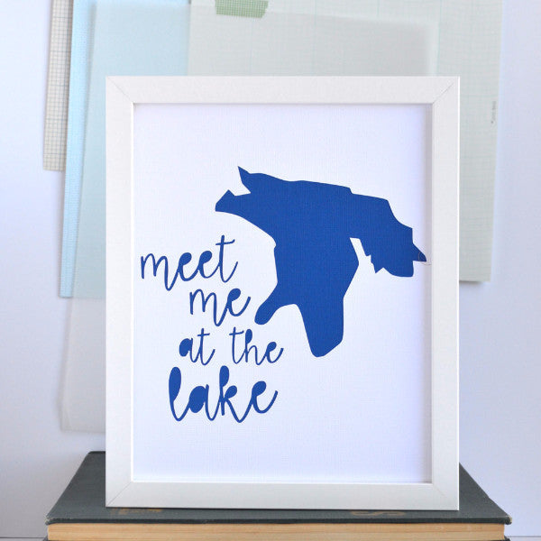 Great Lakes Meet Me At Lake Huron Art