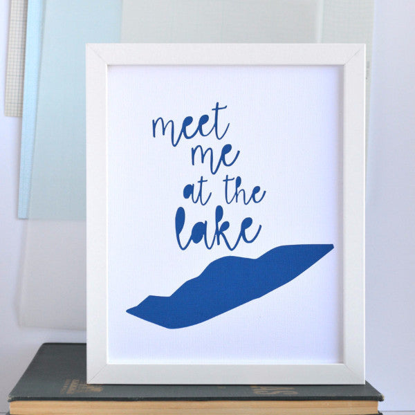 Great Lakes Meet Me At Lake Erie Art