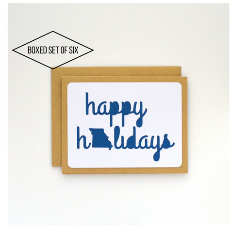 State Cards: Missouri Happy Holidays Boxed Cards