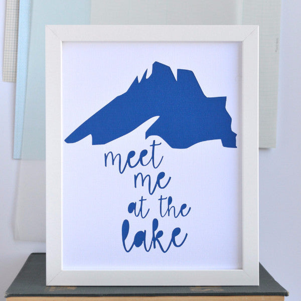 Great Lakes Meet Me At Lake Superior Art