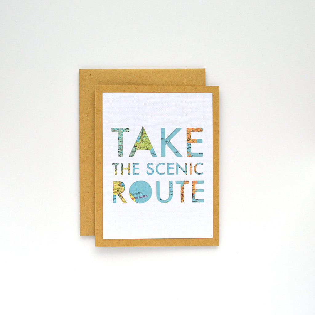 Take the Scenic Route Card