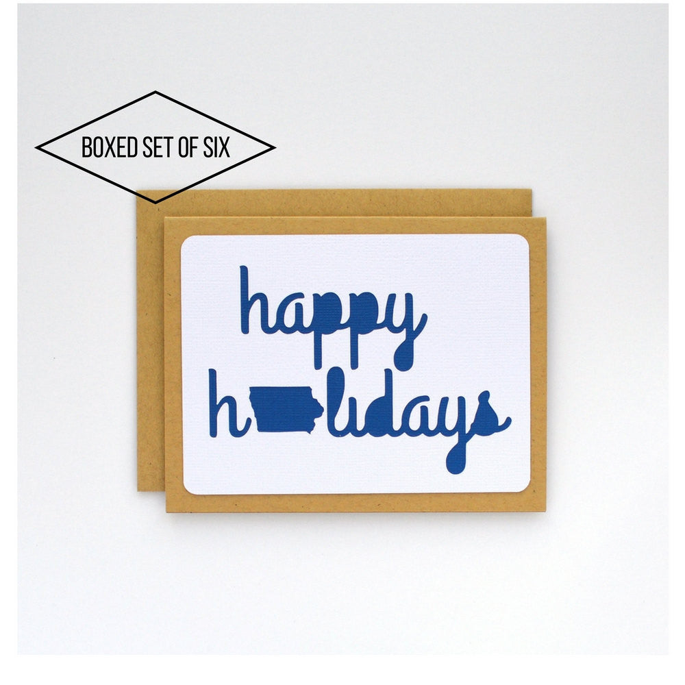 Iowa Happy Holidays Boxed Cards