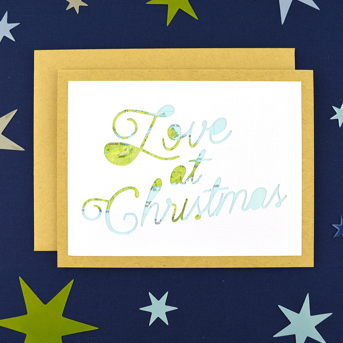 Love at Christmas Card