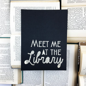 Meet Me at the Library Art