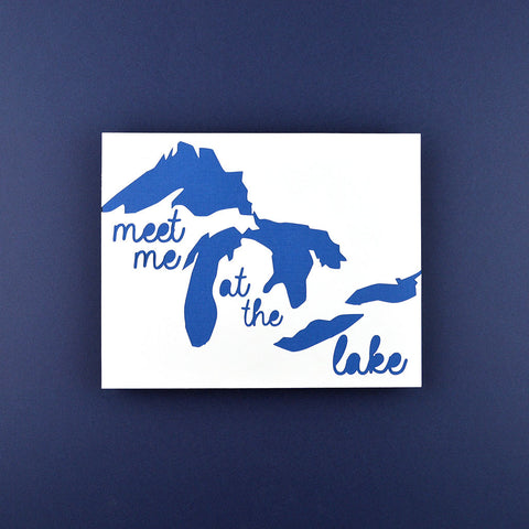 Great Lakes Meet Me at the Lake, 8x10