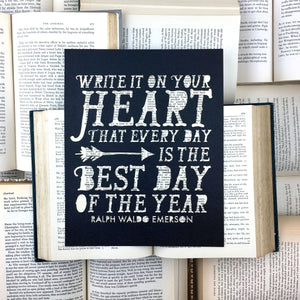 Write it On Your Heart Book Art
