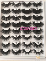 Load image into Gallery viewer, 25MM WHOLESALE (HOLOGRAPHIC/PINK BOXES INCLUDED)