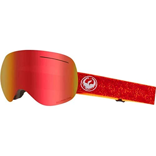 Dragon Alliance Maze Rose Goggles, Red, Large