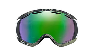 Oakley Canopy Snow Goggles Turntable Green with Prizm Jade Iridium Lens
