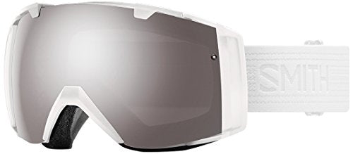 Smith Optics I/O Snow Goggle Whiteout with CP Sun Platinum Mirror and CP Storm Lens