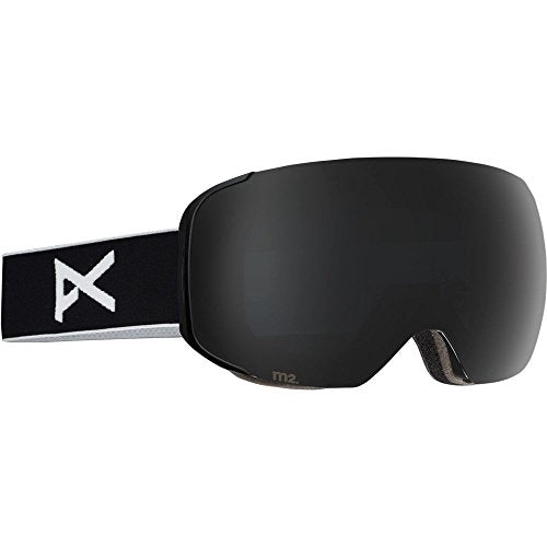 Anon M2 Snow Goggles Black With Polarized Smoke & Blue Lagoon Lens