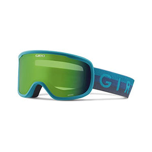 Giro Moxie Women's Snow Goggles Marine Horizon - Loden Green/Yellow