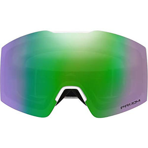Oakley Fall Line XM Adult Snowmobile Goggles - Matte White/Prizm Jade Iridium/One Size