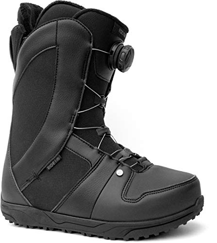 Ride Women's Sage Snowboard, Black, Boot Size 7.5