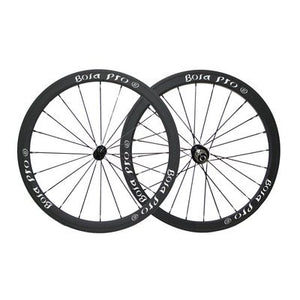 Bola Pro carbon bike wheelset,+/-0.2mm offset,Two Year Warranty,700C 38mm high 25mm wide tubular carbon rim with DT Swiss 350 hub and Sapim Cx ray 20/24 spoke