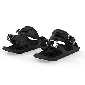 Snowfeet Mini Ski Skates for Snow The Short Skiboard Snowblades