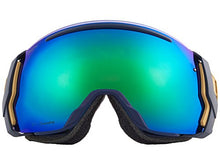 Load image into Gallery viewer, Smith Optics Adult I/O 7 Snowmobile Goggles Navy Camo Split/ChromaPop Sun Green Mirror