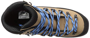 Alpina Sports Women's Montana Eve Backcountry Cross Country Nordic Ski Boots, Euro 39, Brown/Black/Blue