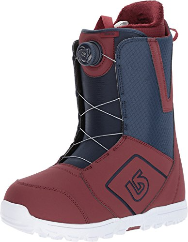 Burton Men's Moto Boa¿ '18 Maroon/Blue 9 D US