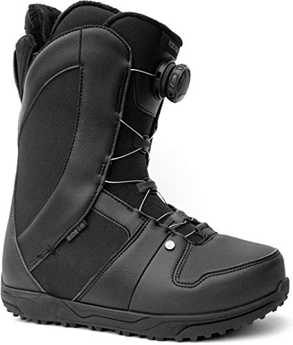 Ride Women's Sage Snowboard Boot, Black, Size 8.5