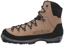 Load image into Gallery viewer, Alpina Sports Montana Backcountry Cross Country Nordic Ski Boots, Brown/Black, Euro 44