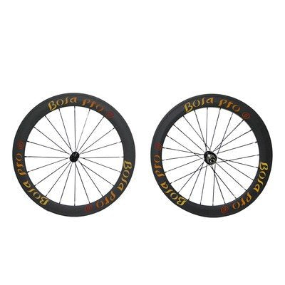 UCI approved Bola Pro carbon bike wheelset,240℃ High TG ceramic braking surface,+/-0.2mm offset,Two Year Warranty,700C 50mm high 25mm wide clincher carbon rim enduro ceramic bearing hub & Sapim Cx ray