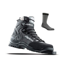 Load image into Gallery viewer, Alpina Bc 1575 75mm Backcountry Xc - Ski Boots - 44 - Black/Silver