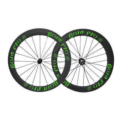 Bola Pro carbon bike wheelset,240℃ High TG ceramic braking surface,+/-0.2mm offset,Two Year Warranty,700C 50mm high 25mm wide tubeless carbon rim with enduro ceramic bearing hub and Sapim Cx ray spoke