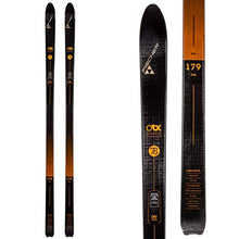Load image into Gallery viewer, Fischer Traverse 78 Crown Cross Country Ski - 189cm - Black/Red