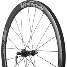 Load image into Gallery viewer, VISION Metron 40 Disc Wheelset - Tubeless Black, Shimano, Centerlock