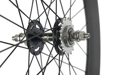 Load image into Gallery viewer, Superteam 3Spokes Fixed wheelset 700C Clincher 17Cogs