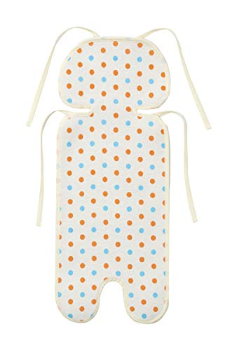 WatariYoshimi woolen [Made in Japan stroller for sweat sheet (polka dot orange)