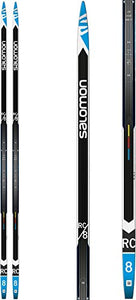 SALOMON RC-8 Extra Stiff XC Skis Mens Sz 206cm