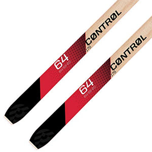 Alpina Sports Control 64 Skis with NNN Auto Tour Binding, Red, 185cm