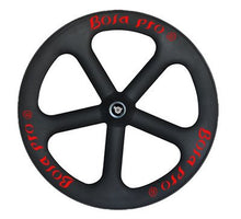 Load image into Gallery viewer, Bola Pro five spoke carbon bike wheel,Two Year Warranty for road or track