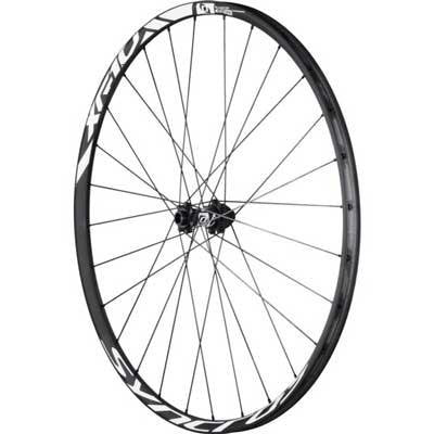 Syncros 2015 XR1.0 Carbon Mountain Bicycle Front Wheel - 228420 (Black - 26 Inch)