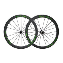 Load image into Gallery viewer, Bola Pro carbon bike wheelset,+/-0.2mm offset,Two Year Warranty,700C 38mm high 25mm wide tubular carbon rim with DT Swiss 350 hub and Sapim Cx ray 20/24 spoke