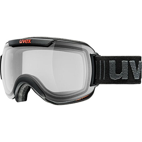 Uvex Downhill 2000 Variomatic Polavision Goggles - Men's Black Matte/Variomatic Smoke, One Size