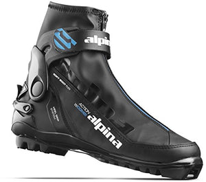 Alpina Sports Women's A Combi Eve Classic Cross Country Ski Boots, Black/Blue/White, Euro 41