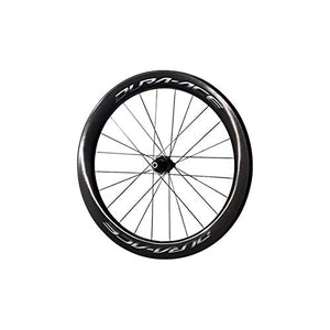 SHIMANO WH-R9170-C60-TU Carbon Tubular Road Bicycle Wheel - Front - EWHR9170C60FETX