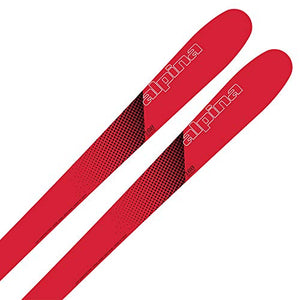 Alpina Sports Discovery 102 Skis, Red, 168cm