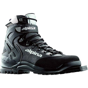 Alpina Bc 1575 75mm Backcountry Xc - Ski Boots - 44 - Black/Silver