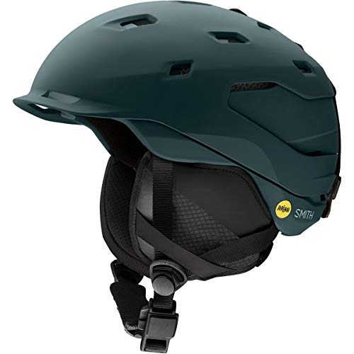 Smith Optics Quantum-Mips Adult Ski Snowmobile Helmet - Matte Deep Forest/Small