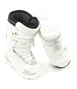ThirtyTwo Womens Ultralight Snowboard Boots, White, 6