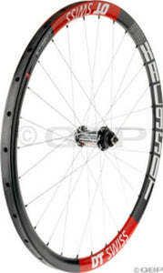 "DT-Swiss XRC-950 tubular IS/CL-disc 26"" front wheel, 3X, 28h"